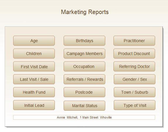 marketing medical software