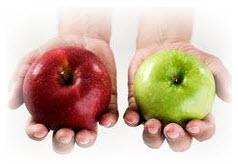 Comparison Apples