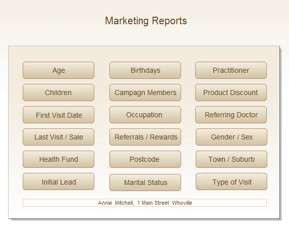 marketing medical software